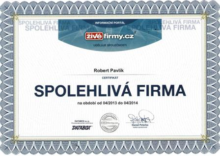 spolehlivá firma