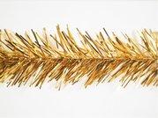 Vánoční řetěz široký zlatý - 1822