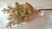 Vánoční přízdoba Vavřín zlatý  TY13-858