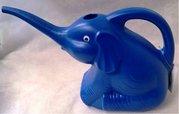 New Garden Dětská konvička SLON modrý  sedící 29 cm