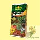 FLORIA ColorMulch dekorační mulč oranžová 70 l