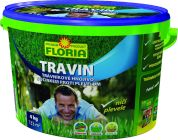 FLORIA TRAVIN Trávníkové hnojivo s účinkem proti plevelu 3 v 1 - 4 kg