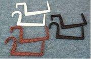 Hák Plastový na truhlík hranatý 12cm terakota