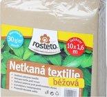 Netkaná textilie béžová 1,6x10. Ochrana rostlin proti mrazu