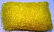 Sisálové vlákno 30g žluté