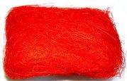 Sisálové vlákno 30g červené