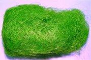 Sisálové vlákno 30g světle zelené