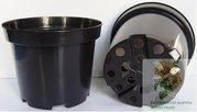 Kontejner pěstební plastový SBX 10 l černý 29 cm