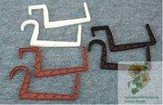 Hák Plastový na truhlík hranatý 15cm terakota