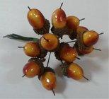 Vánoční Přízdoba Žaludy 12 kusů  86-1660