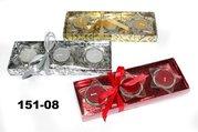 Vánoční Dárkový set mix 3/3 stříbrný