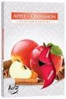 Bispol Svíčka čajová jablko skořice 6 ks