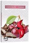 Bispol Svíčka čajová Čoko cherry 6 ks