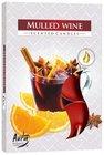 Bispol Svíčka čajová Svařené víno 6 ks