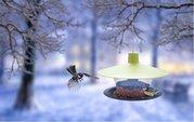 Plastia Krmítko Pro ptáky FINCH Zelený