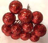 Přízdoba Koule velká červená