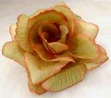 Růže látková hnědozelená
