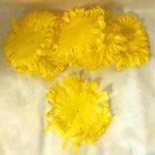 Chryzantéma volné plátky žluté 600 ks