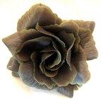 Růže látková šedozelená