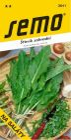 Šťovík zahradní na saláty