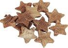 Vánoční Dekorace Kokosová hvězda 6 ks